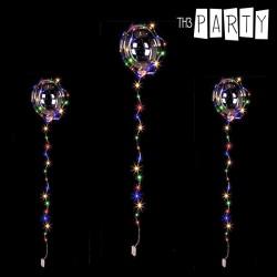 Μπαλόνι για Πάρτι με Πολύχρωμη Γιρλάντα LED Th3 Party