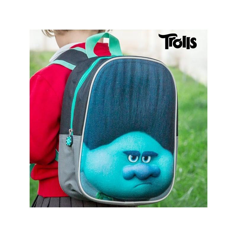 Σχολική Τσάντα 3D Branch (Trolls)