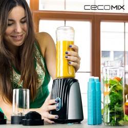 Μπλέντερ με Κανάτα Cecomix Titanium Two 4066 350W