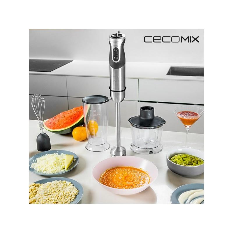 Μπλέντερ Χειρός Πολλαπλών Χρήσεων Cecomix Titanium Full 4062 1000W