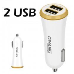 Φορτιστής αυτοκινήτου με 2 θύρες USB