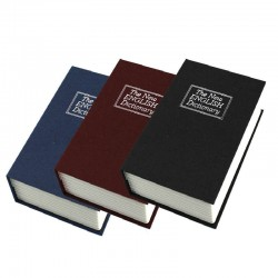 XXL Χρηματοκιβώτιο βιβλίο - κρύπτη τιμαλφών με κλειδί 26cm