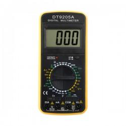 Ψηφιακό Πολύμετρο με Μεγάλη Οθόνη DT9205A