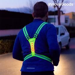 Ανακλαστική Ζώνη Τύπου Σαγής Με LED Για Τους Αθλητές InnovaGoods