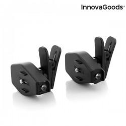 Κλιπ με LED για Γυαλιά 360º InnovaGoods (Πακέτο με 2)