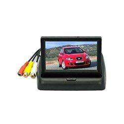 Κάμερα Οπισθοπορείας Αυτοκινήτου με Έγχρωμο TFT Μόνιτορ 4,3» OEM CRVS43