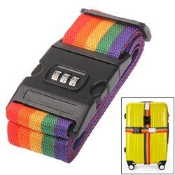 Ιμάντας Αποσκευών με Κλειδαριά 3 Ψηφίων – Luggage Strap Cross Belt With Password Lock OEM