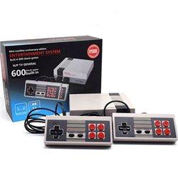 Ρετρό Παιχνιδομηχανή με 600 Παιχνίδια – Mini Entretainment System