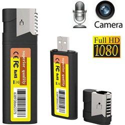 Κρυφή Κάμερα Full HD Καταγραφικό Αναπτήρας Πυράκτωσης M8 – Mini DVR Spy Camera Lighter