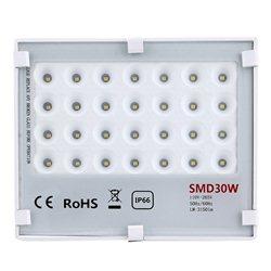 Προβολέας Εξωτερικού Χώρου LED Smd Flood Light – 28PCS – 30W – IP66 – OEM