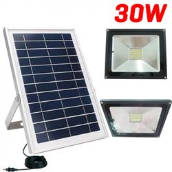 Ηλιακός Προβολέας 30W LED Με Αισθητήρα Φωτός – OEM JD 1830