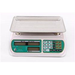 Ψηφιακή Ζυγαριά Λιανικής 40 Κιλών Διπλής Οθόνης Με Υπολογισμό Συνόλου Αξίας – TCS-DY-988