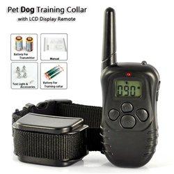 Αδιάβροχο Επαναφορτιζόμενο Ηλεκτρονικό Κολάρο Εκπαίδευσης Σκύλου – 100LV