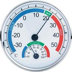 Θερμόμετρο & Υγρόμετρο Ακριβείας OEM TH-101C