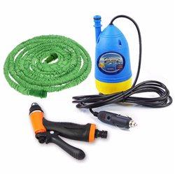 Σετ Πιεστικού για Πλύσιμο με Αντλία 12volt, 10 Μέτρα Λάστιχο και Πιστόλι – Water Pump Gun Chejieba