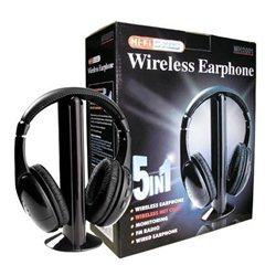 Ασύρματα Ακουστικά 5 σε 1 με Fm Radio, Λειτουργία Internet Chat & Baby Monitor – OEM