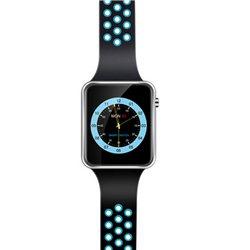 Smartwatch – Χρώμα Μάυρο/Γαλάζιο – OEM-Miwear M3