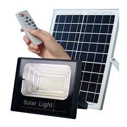 Αδιάβροχος Ηλιακός Προβολέας 100W Με Φωτοβολταϊκό Πάνελ, Τηλεκοντρόλ Και Χρονοδιακόπτη – OEM JD-8800