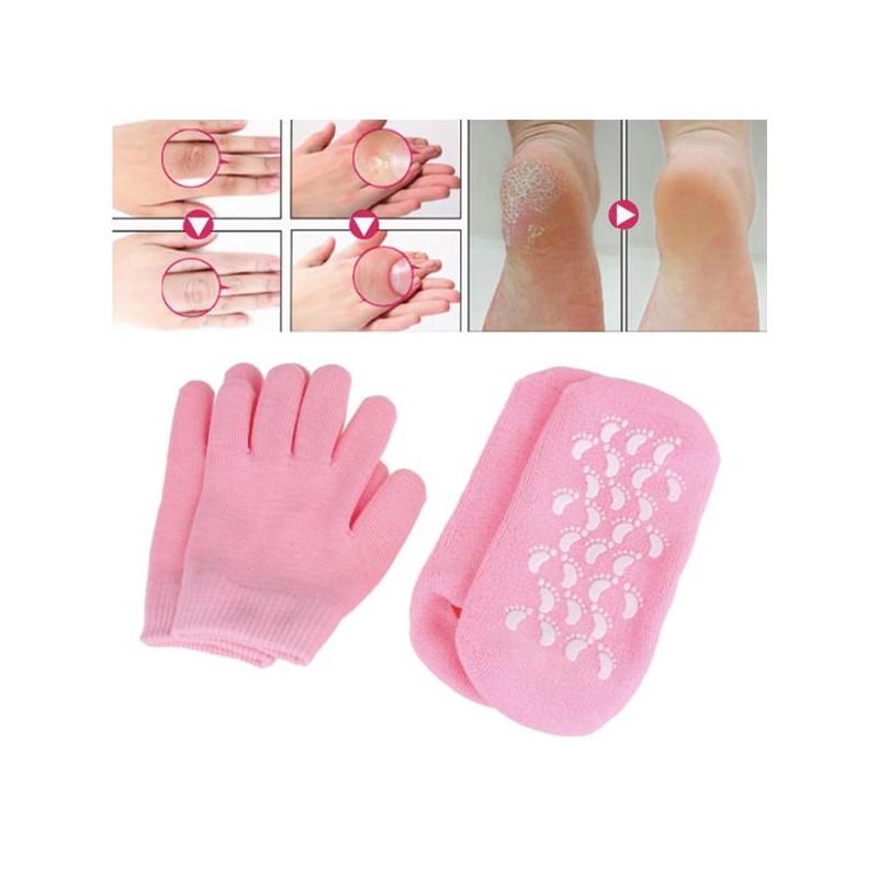 Γάντια & Κάλτσες Ενυδάτωσης Και Περιποίησης Χεριών & Ποδιών – Gel Moisturizing Gloves & Socks