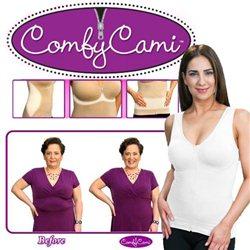 Ελαστικός Κορσές Με Φερμουάρ Για Αδυνάτισμα, Σύσφιξη & Στήριξη Στήθους – Comfy Cami