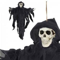 Κρεμαστóς Σκελετός (78 x 57 cm) Μαύρο