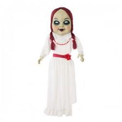Κρεμαστή διακόσμηση Halloween Κούκλα zombie Λευκό (153 Cm)