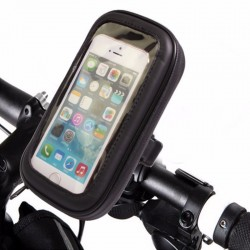 Αδιάβροχη Βάση – Θήκη Μηχανής/Ποδηλάτου για Κινητά, Smartphone, GPS & iPhone έως 5,7in – FLY 53570