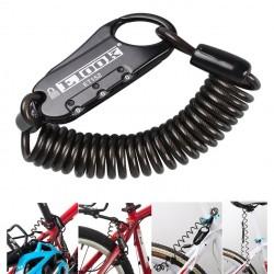 Ασφάλεια – Κλειδαριά Για Κράνος Μηχανής – Ποδηλάτου – Helmet Combination Lock