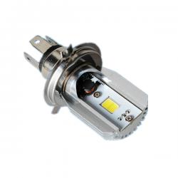 Λαμπτήρας Μοτοσυκλέτας COB LED H4 80W / 2x6W, 12V / 6.000K – M2S Moto 800LM