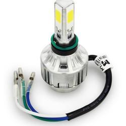 Λαμπτήρας Μοτοσυκλέτας LED 2000LM Με Ανεμιστήρα H4 6000K CAN BUS