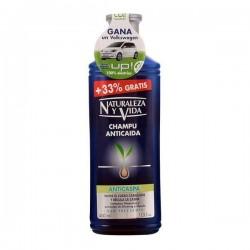 Σαμπουάν κατά της Πιτυρίδας και κατά της Τριχόπτωσης Naturaleza y Vida 400 ml