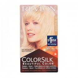 Βαφή Χωρίς Αμμωνία Colorsilk Revlon Φυσικό ξανθό πολύ ανοιχτό