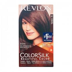 Βαφή Χωρίς Αμμωνία Colorsilk Revlon Καφέ