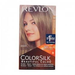 Βαφή Χωρίς Αμμωνία Colorsilk Revlon Ξανθό σκούρο σαντρέ