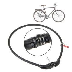 Κλειδαριά Ποδηλάτου με Συνδυασμό