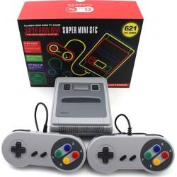 Ρετρό Παιχνιδοκονσόλα Τηλεόρασης Με 621 Παιχνίδια Super HDMI Mini SFC Oem