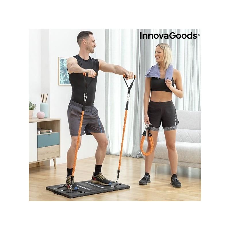 Ολοκληρωμένο φορητό σύστημα γυμναστικής με οδηγό άσκησης Gympak Max InnovaGoods