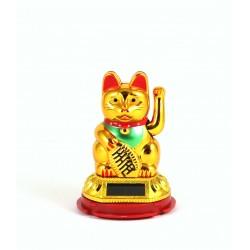 Τυχερή Γάτα Maneki Neko ORIGINAL SOLAR MOBILE ARM χωρίς μπαταρίες