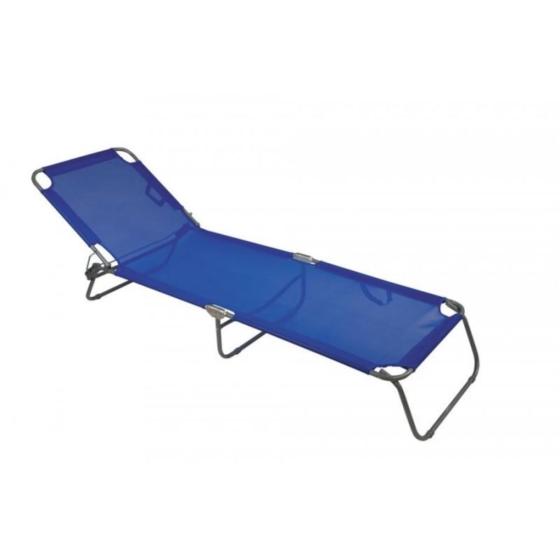 Ξαπλώστρα Αλουμινίου Φ 22 - Textilene με μαξιλάρι