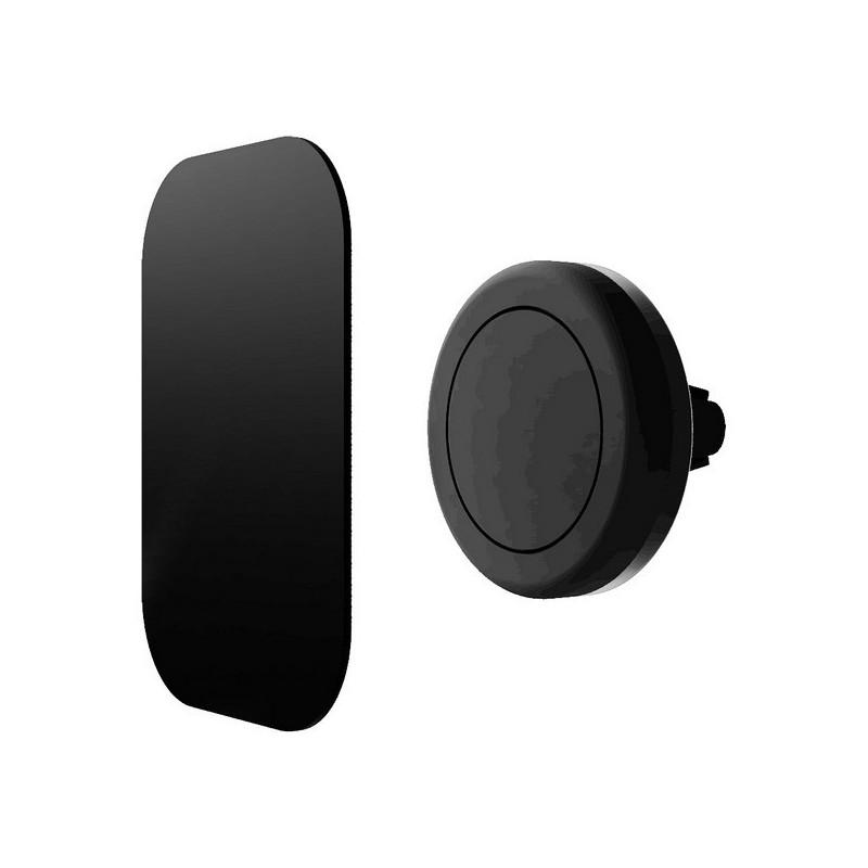 Βάση κινητού αυτοκινήτου μαγνητική Contact περιστρεφόμενη 360°, μαύρη