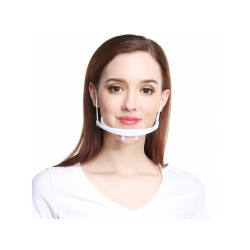 Διάφανη πλαστική προσωπίδα προστασίας πολλαπλών χρήσεων