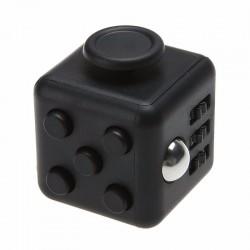 New Anti Stress Fidget Cube Αγχολυτικός Κύβος Μαύρο