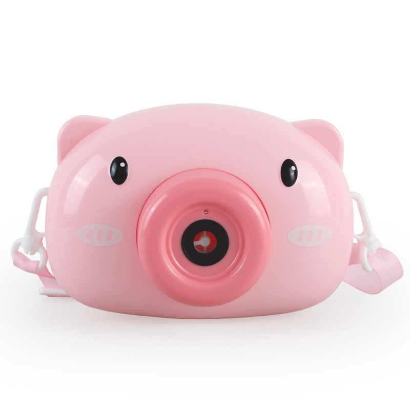 Παιχνίδι Σαπουνόφουσκας piggy camera με φως και μουσική