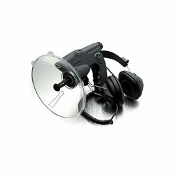 """Μονόκυαλο με Παραβολικό Μικρόφωνο - Κατασκοπευτική Συσκευή """"Βιονικό Αυτί"""""""