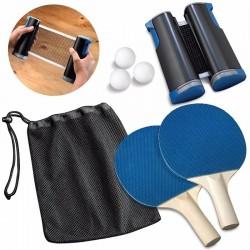 Emerson Φορητό Σετ Ping Pong με τσάντα αποθήκευσης