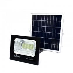 Ηλιακός Προβολέας 150LED Αλουμινίου 200W IP67 CcLamp CL-780s – Μαύρο