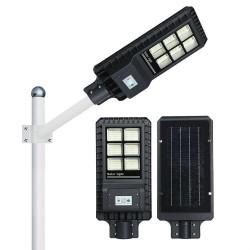 Ηλιακός Προβολέας Δρόμου 120W υψηλής φωτεινότητας με τηλεχειριστήριο και αισθητήρα