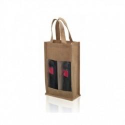 Διπλή Τσάντα για Μπουκάλι Κρασιού (75 cl) 143481