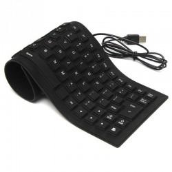 Εύκαμπτο Αδιάβροχο Πληκτρολόγιο Σιλικόνης - Flexible Keyboard