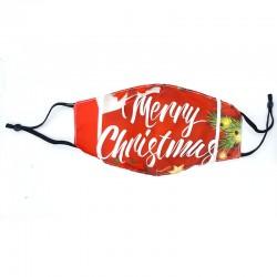 Μάσκα Προστασίας Προσώπου Πολλαπλών Χρήσεων -Merry Christmas